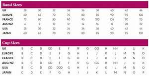 Bra Converter Size Chart Quick Facts Freya