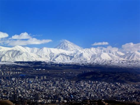 damavand  photo  tehran east trekearth