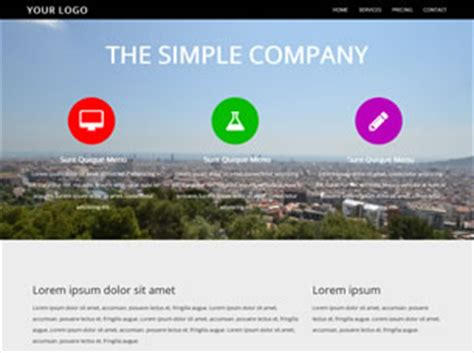 Simple Website Templates For Beginners Simple Css Template Choice Image Free Templates Ideas