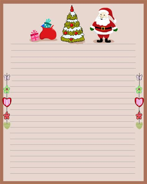 free christmas stationery free stationery and letterheads you can print