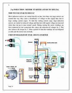 Wye Delta Magnetic Starter Wiring Diagram