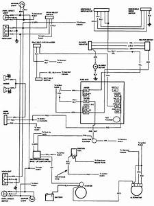 1985 K10 Wiring Diagram
