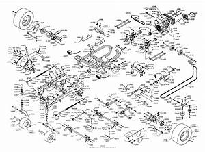 Dixon Ztr 8025  2003  Parts Diagram For Chassis