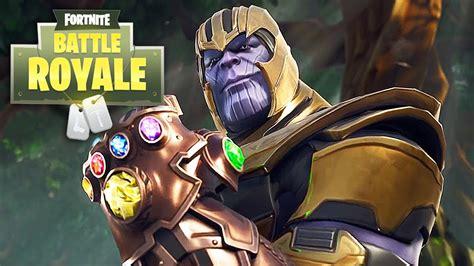 fortnite battle royale infinity gauntlet trailer youtube