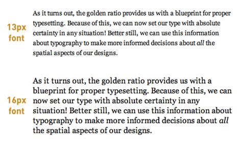the ultimate guide to golden ratio typography