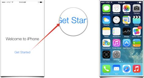 at t set up new iphone how to set up and start using your new iphone 5s or iphone