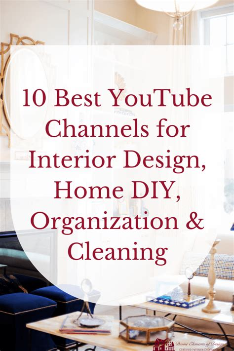 youtube channels  interior design home diy