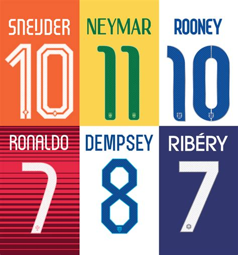 nike world cup fonts