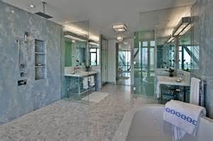 open shower bathroom design open shower design contemporary bathroom hepfer designs