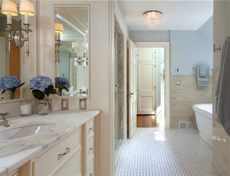 Bathroom Colors With White Cabinets by Traditional Home With Classic White Kitchen Home Bunch