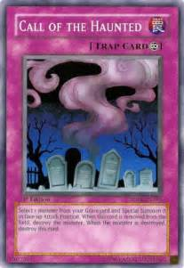 yugi card call of the haunted