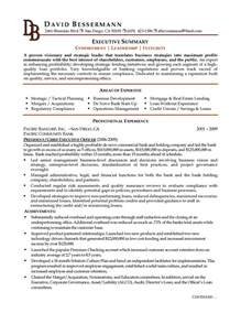 the best summary for a resume executive summary exle resume berathen