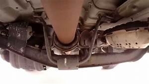Watch As An Xterra Drive Shaft Carrier Bearing Goes Bad