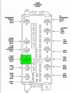2005 Chrysler Town And Country Blower Motor Wiring Diagram