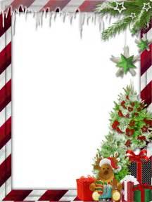 Christmas Reindeer Frames and Borders Transparent