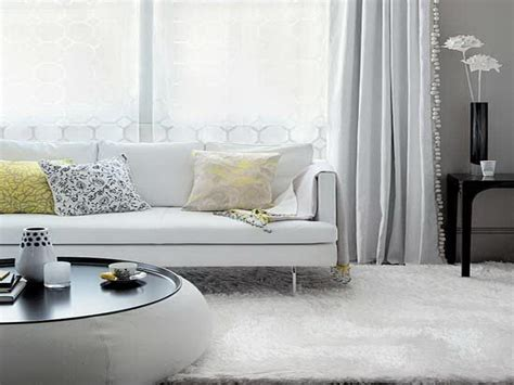 White Living Room Curtains Option Choice Dearmotorist