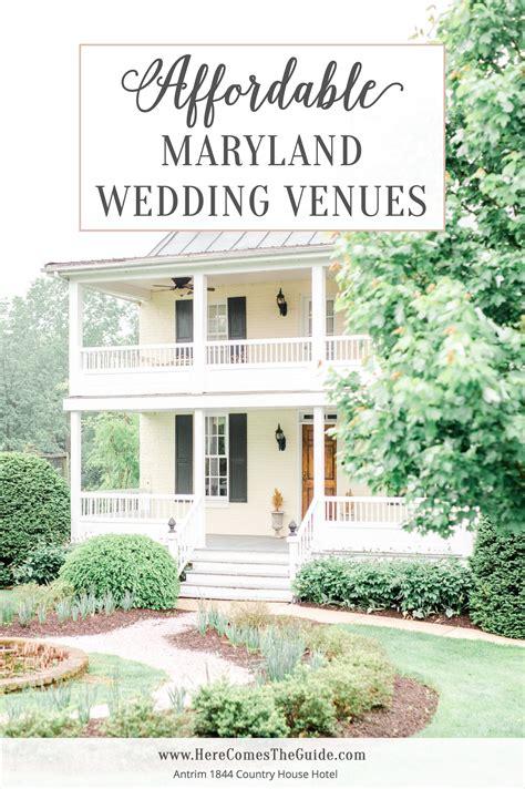 affordable maryland wedding venues budget wedding