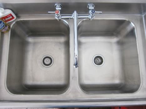 stainless steel kitchen sink cleaner how to clean stainless steel sink tips tricks 8263