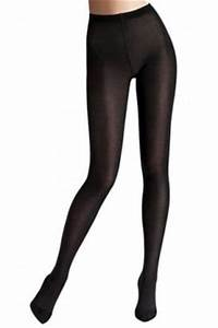 Black Wolford Plus Size Tights