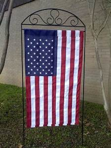 Large flag stand outdoor living pinterest flag stand for Large garden flag stand