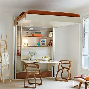 Lit Escamotable Armoire : lit escamotable lequel choisir marie claire ~ Premium-room.com Idées de Décoration