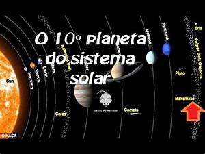 The 10th planet in the solar system - YouTube