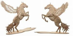 Magical Pegasus (Flying Horse) - Mythical MakeCNC com