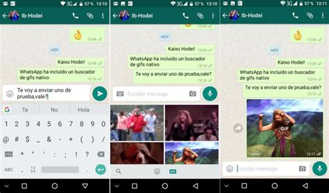 whatsapp incluye un buscador de gifs en la nueva beta de