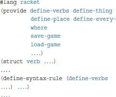 creating languages  racket january