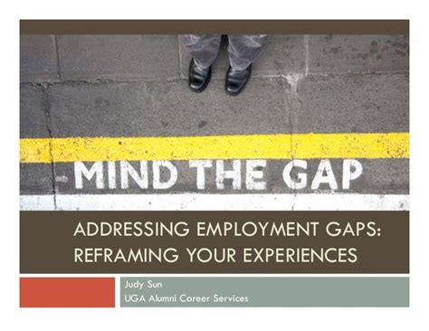 How To Address Gaps In Employment On A Resume by Employment Gaps Reframing Your Experiences