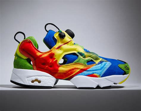 avian rainbow sneakers insta pump fury