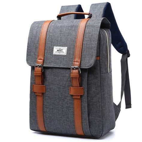 מוצר 2017 vintage canvas backpacks school bags for teenagers boys large