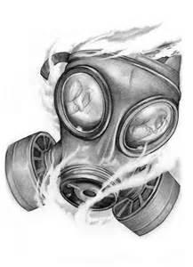 Gas Mask Tattoo Designs Drawings