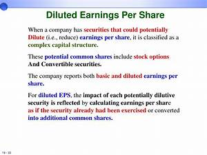 When Calculating Diluted Earnings Per Share Stock Options ...