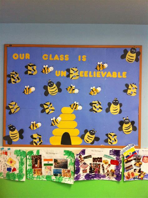 class unbeelievable bee board bulletin boards