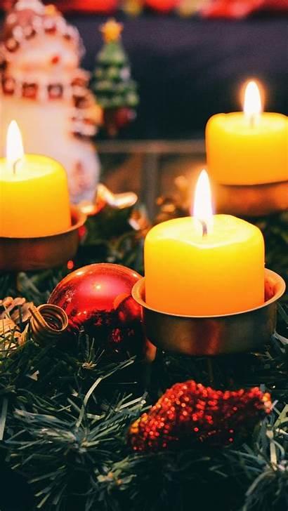 Candles Infinity Snow Tea Lockscreen Pillar Navidad