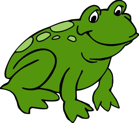 cute hopping frog clipart  clipart images clipartingcom