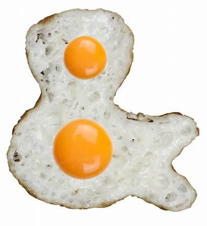 Fried Eggs Font Sunnyside Delicious