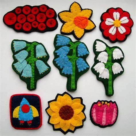 cute handmade felt decorations  simple  eco friendly