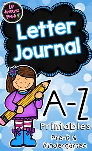 Alphabet letter journal a z no prep worksheets pre k for Letter journal