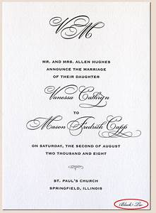 invitations tell the dress code information in your With wedding invitation wording samples dress code