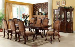 formal dining room sets cromwell antique cherry formal dining room set cm3103t table furniture of america
