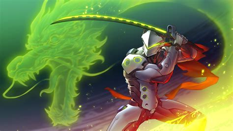 Genji Animated Wallpaper - genji from overwatch by asuka111 on deviantart