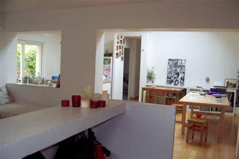 plan de travail separation cuisine sejour charmant plan de travail separation cuisine sejour 10