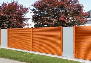 Garten Trennwand Holz : sichtschutz garten sichtschutzzaun holz von fr schl ~ Sanjose-hotels-ca.com Haus und Dekorationen