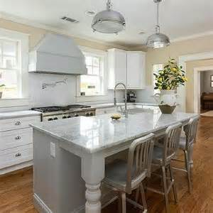 gray kitchen island gray beadboard center island with gray quartzite countertop transitional kitchen