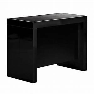 Console A Rallonge : console extensible space a rallonges integrees laquee noire ~ Teatrodelosmanantiales.com Idées de Décoration