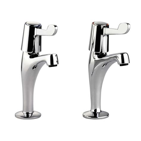 lever taps for kitchen sink leisure pillar lever tpt1cm lv chrome tap kitchen sinks 8980