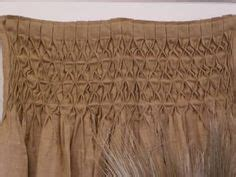 Smocked Burlap Curtains By Jum Jum by These Smocked Jute Burlap Drapes These Been So
