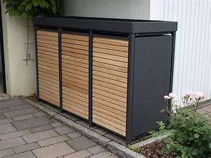 Mülltonnenbox Holz Anthrazit : 3er m lltonnenbox m lltonnenbox f r 3 m lltonnen von ~ Whattoseeinmadrid.com Haus und Dekorationen